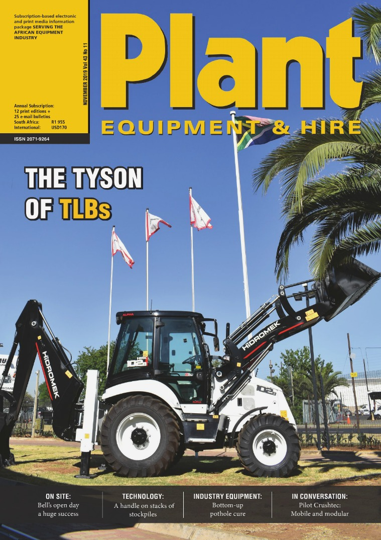 Plant Equipment and Hire November 2019
