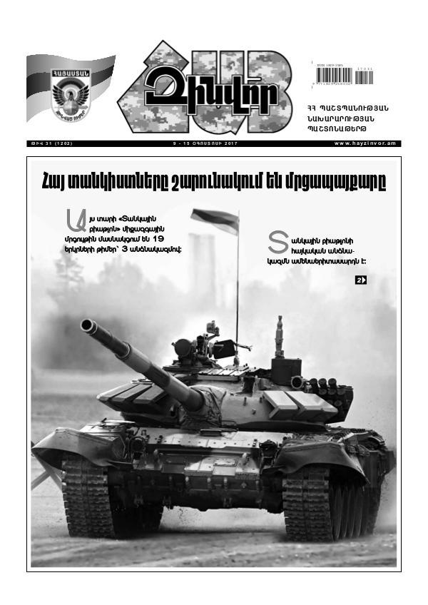 Հայ Զինվոր 31-2017