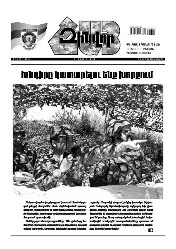 Հայ Զինվոր 17-2018