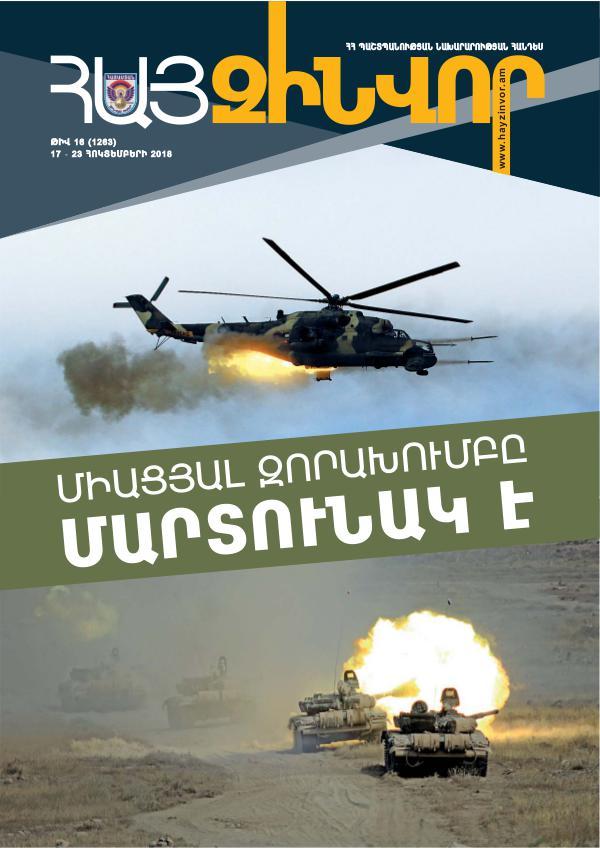 Հայ Զինվոր Zin 16-Standart