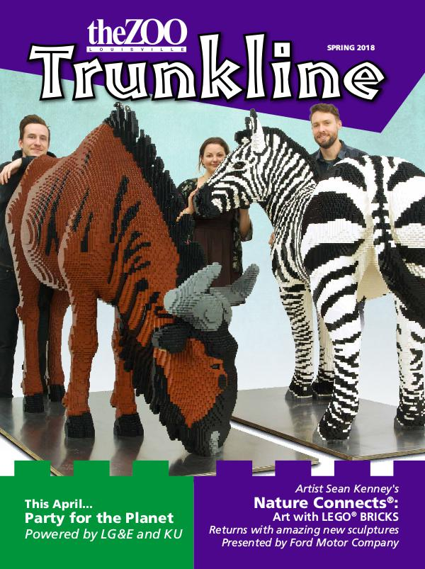 Trunkline Magazine (Louisville Zoo) Trunkline Magazine: March 2018