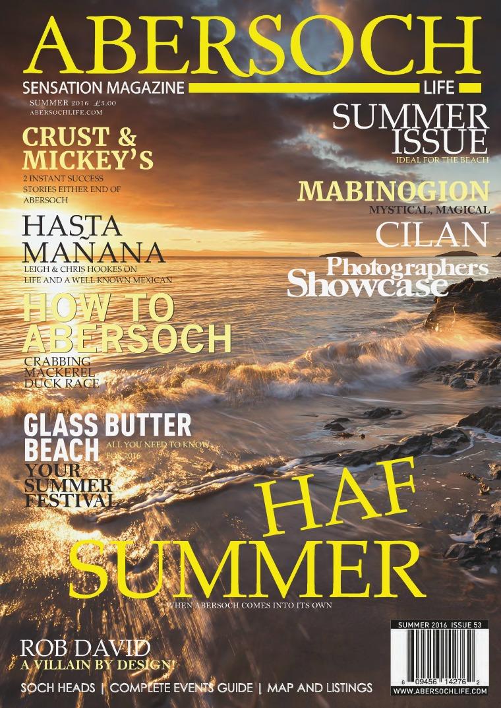 Abersoch Sensation Magazine Summer 2016