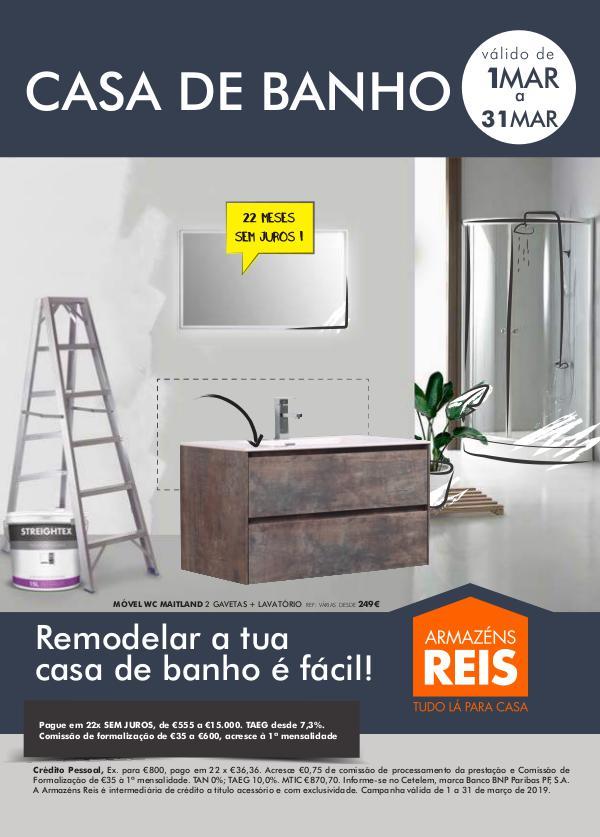 Folheto AR // Março Folheto Banho