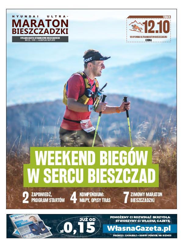 Biuletyn Maraton Bieszczadzki Biuletyn MB nr 2 (9) / 2019