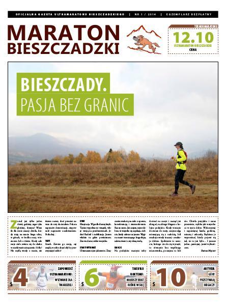 Maraton Bieszczadzki nr 1 / 2014