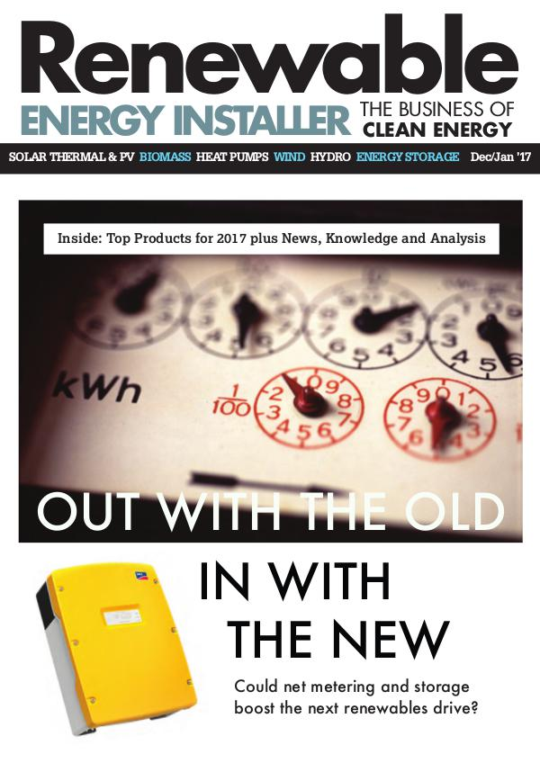 Renewable Energy Installer December/January 2017