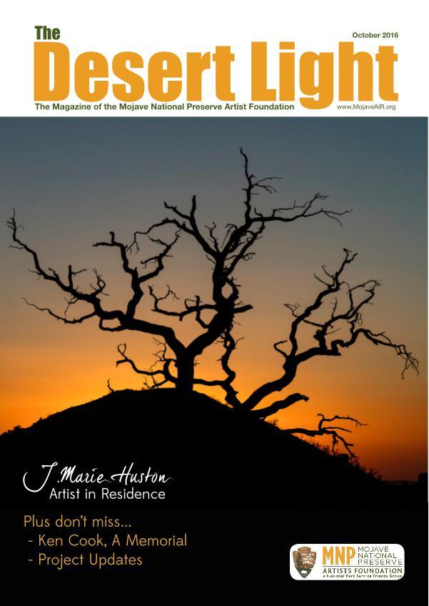 The Desert Light October 2016