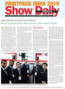 Print Pack Show Daily 2019 - 1st Day