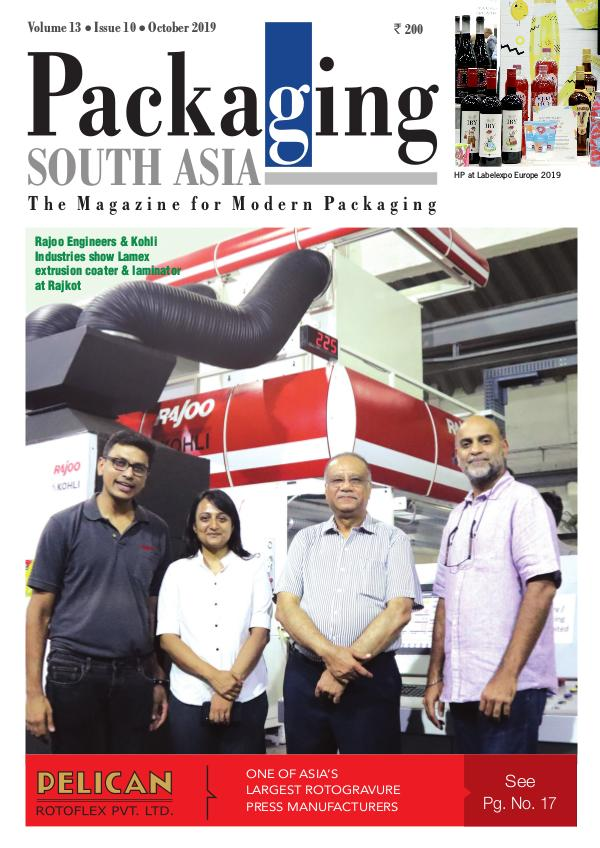 Packaging South Asia - October 2019 issue Emagazine