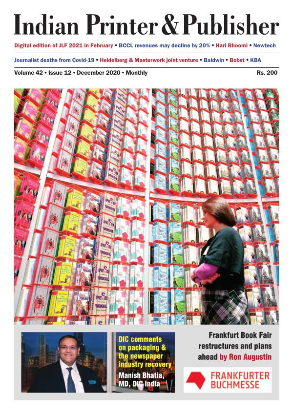 Indian Printer & Publisher - December 2020 eMagazi XII edition