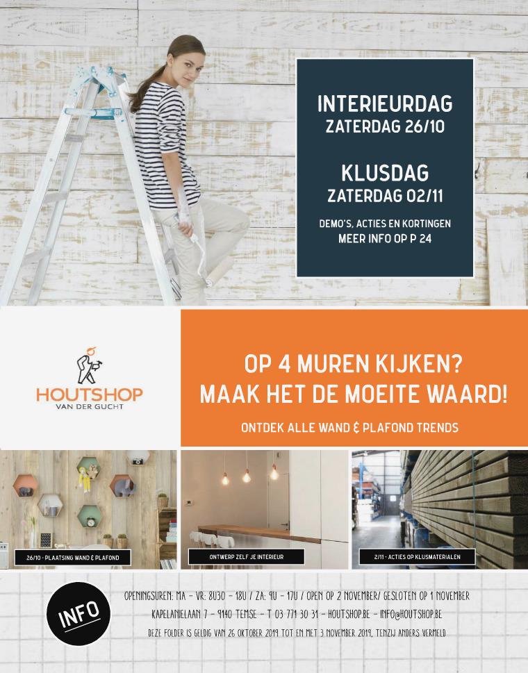 Houtshop magazine - Herfst 2019 Herfst '19