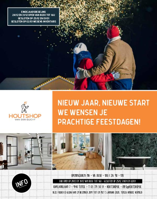 Houtshop magazine - Winter 2019 Winter