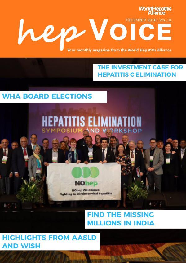 hepVoice Vol 31 December 2018
