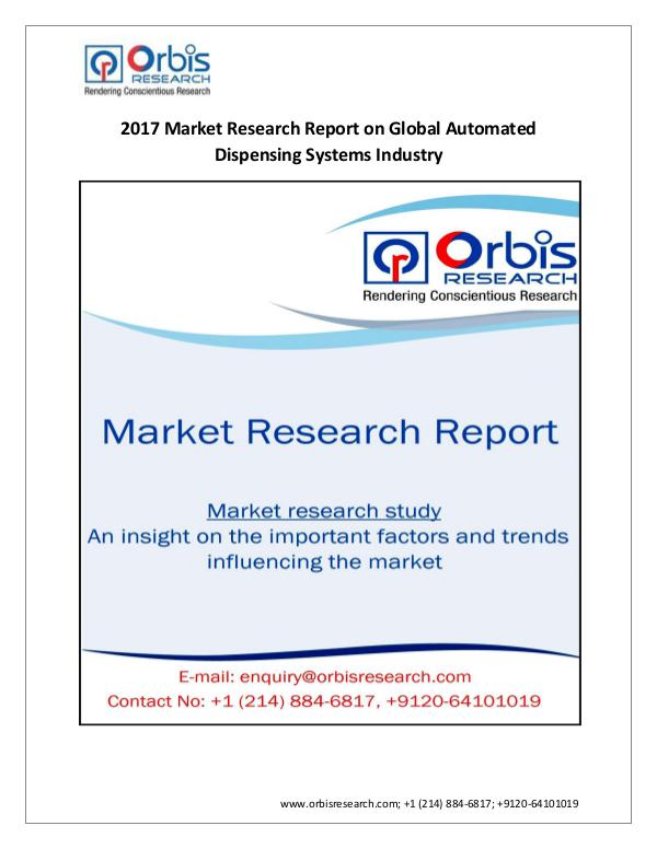 Orbis Research:  Global Automated Dispensing Syste