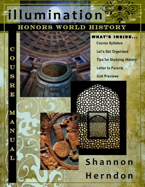 Ms. Herndon's Honors World History Course Manual