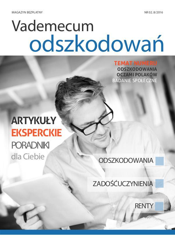 Vademecum odszkodowań 1/2016 Vademecum odszkodowań Nr 2 (8-2016)