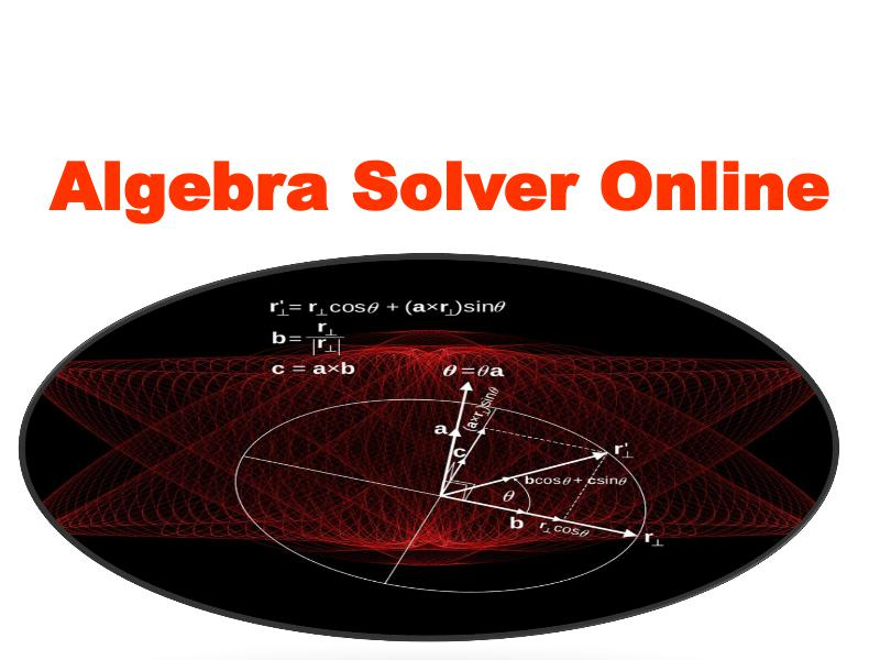 Algebra Solver Online 1