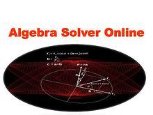 Algebra Solver Online