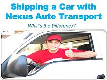 Shipping a Car with Nexus Auto Transport