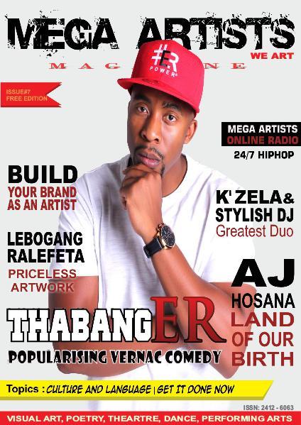 Mega Artists Magazine Issue 7