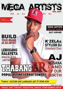 Mega Artists Magazine