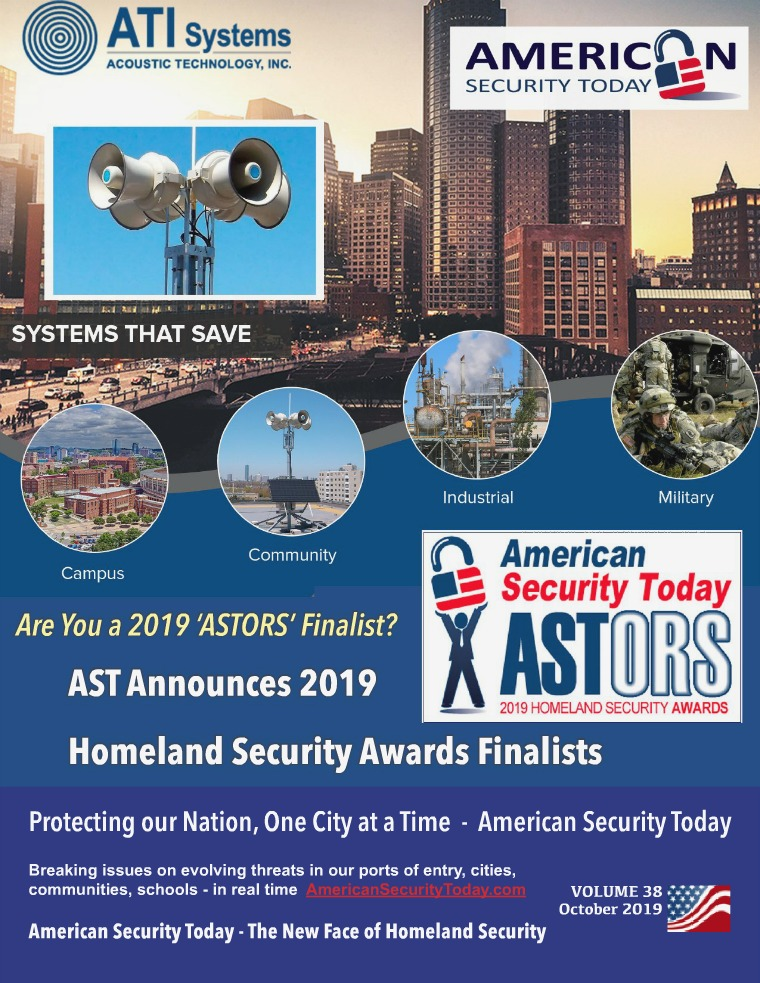 AST October 2019 Finalists Edition Oct 2019 Magazine