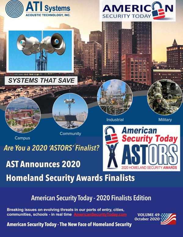 2020 'ASTORS' Finalists Edition