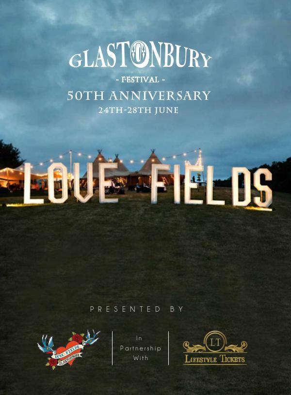 Exclusive Events Glastonbury MAGAZINE