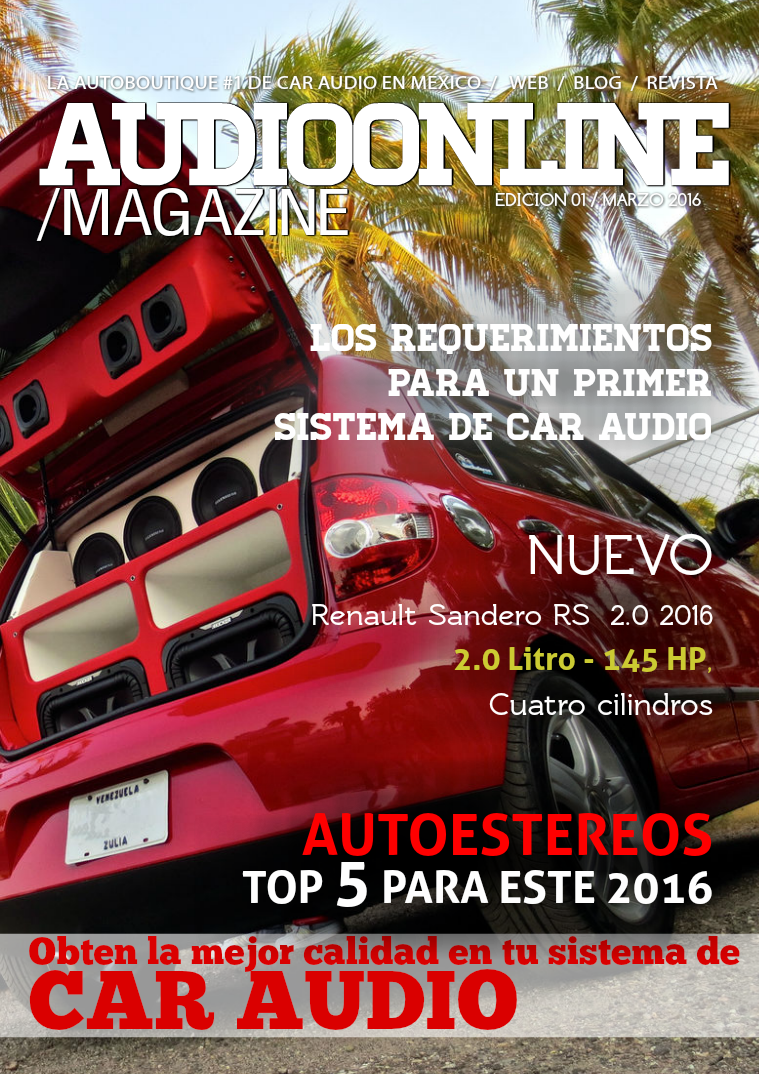Revista Car Audio Audioonline Marzo 2016