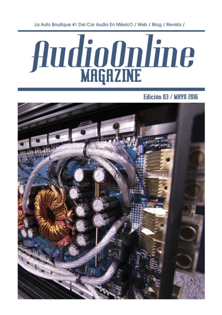 Revista Car Audio Audioonline Mayo 2016