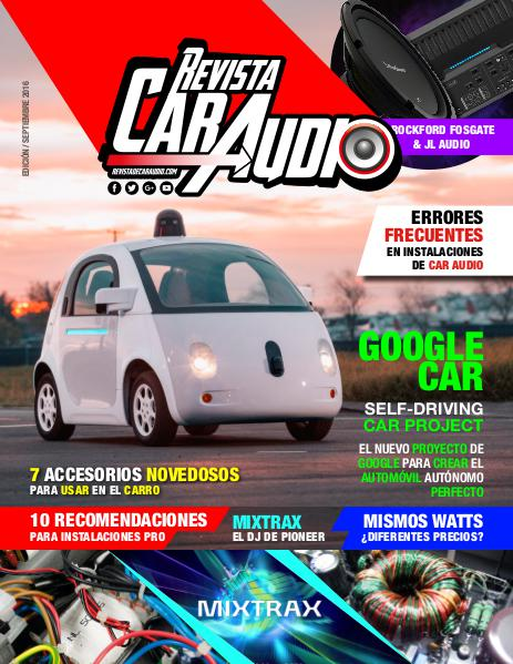 Revista Car Audio Audioonline Septiembre 2016