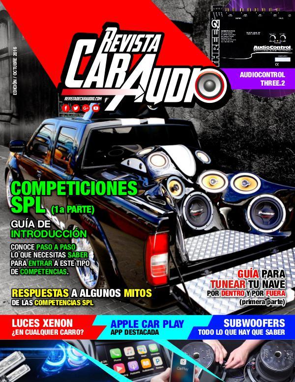 Revista Car Audio Audioonline Octubre, 2016