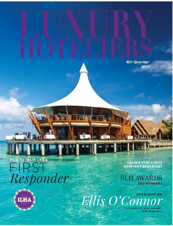 Luxury Hoteliers Magazine 4th Quarter 2017