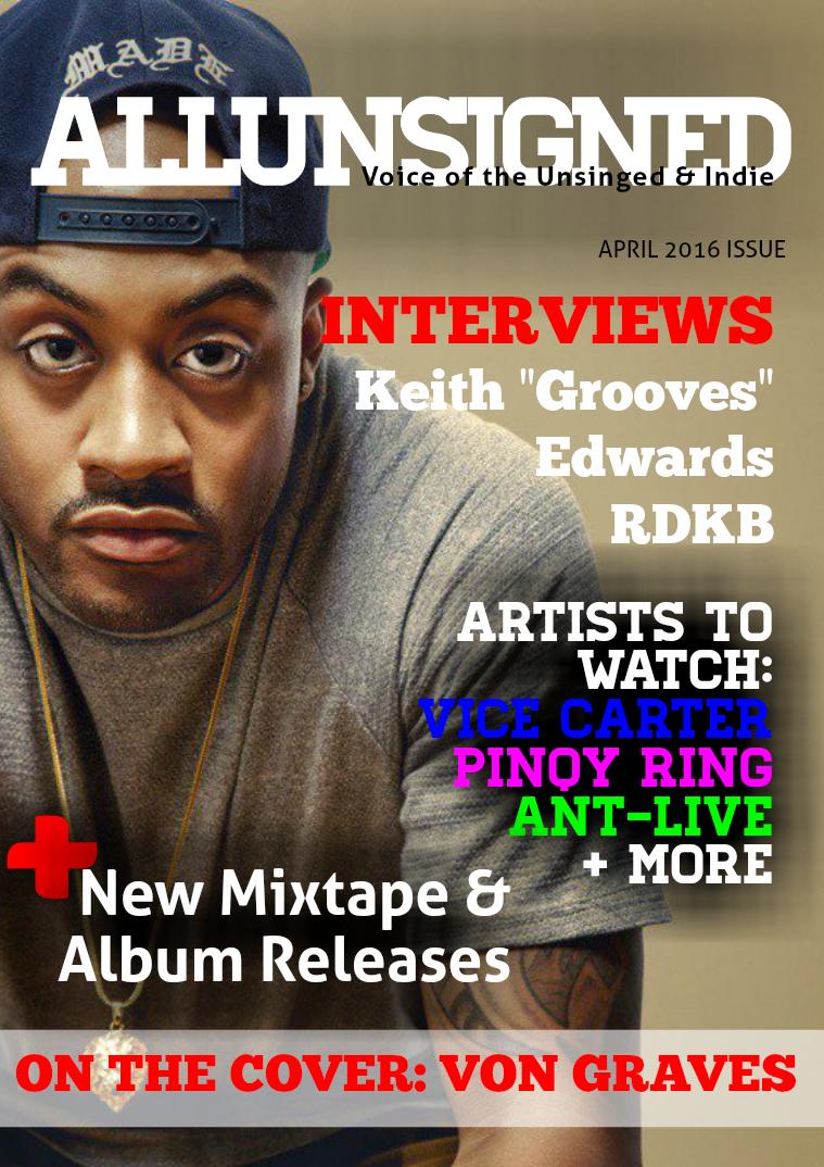 ALLUNSIGNED® Magazine April 2016 Vol. 4.16