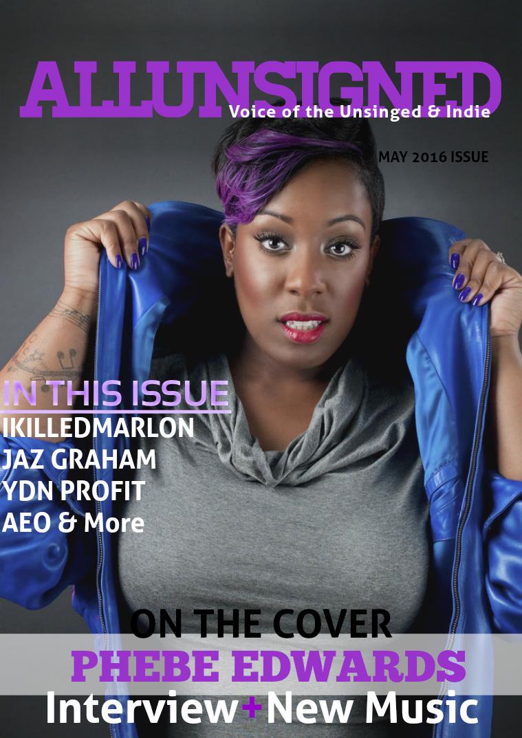 ALLUNSIGNED® Magazine May 2016 Vol. 5.16