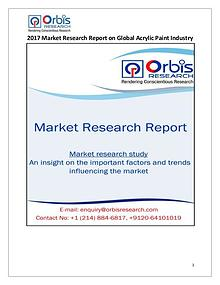 Global Acrylic Paint 2017 Market Research Report