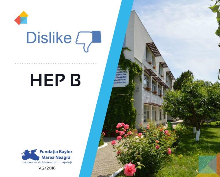 Broșură Dislike HEP B v2/2018