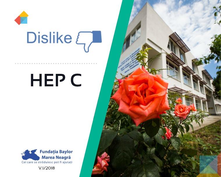 Brosuri hepatită tineri Broșură Dislike HEP C v1/2018