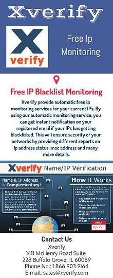 Free IP Monitoring