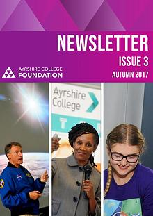 Ayrshire College Foundation Newsletter