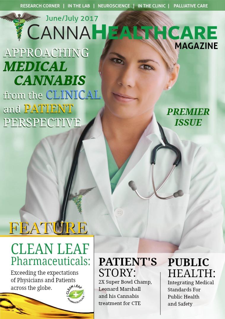 CANNAHealthcare Magazine June / July 2017