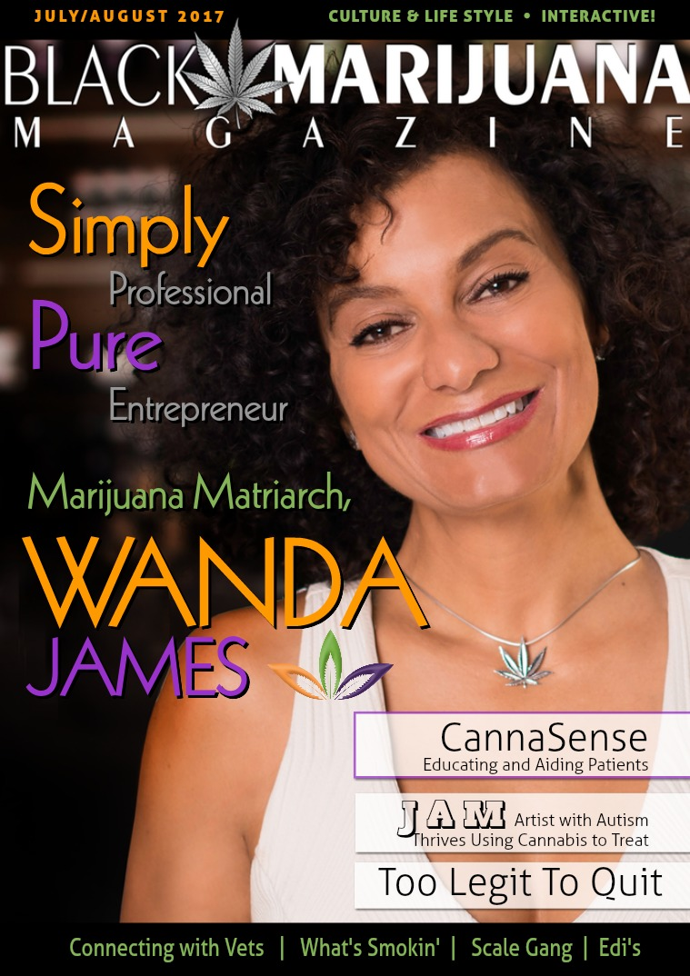 Black Marijuana Magazine August 2017
