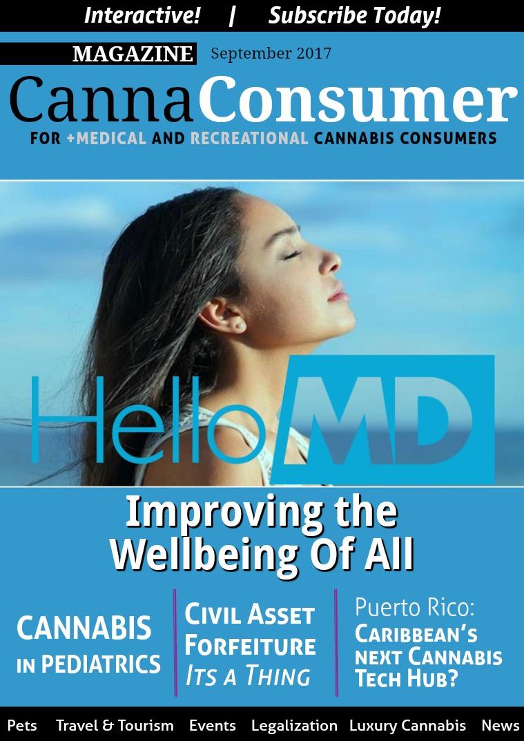 CANNAConsumer Magazine September 2017