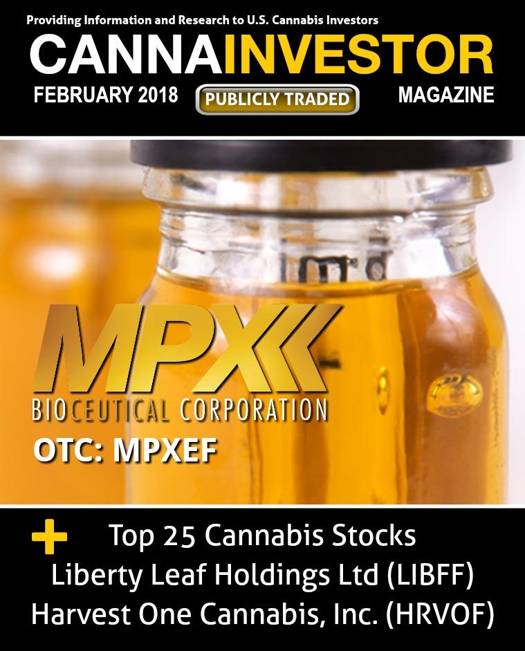CANNAINVESTOR Magazine U.S. Publicly Traded February 2018