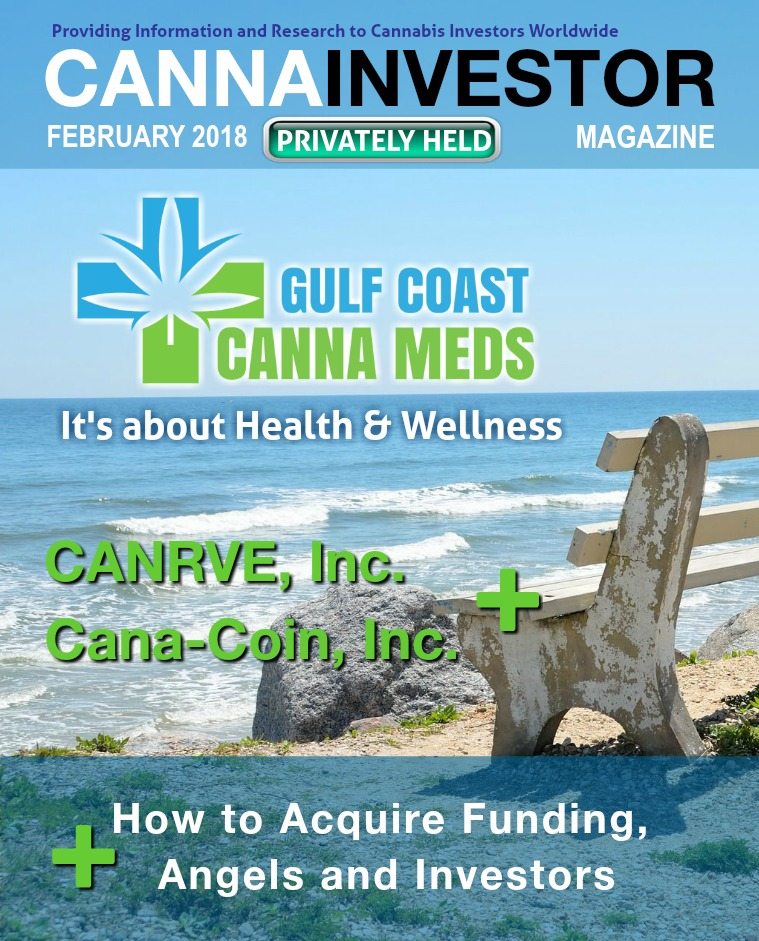 CANNAINVESTOR Magazine U.S. Privately Held Companies February 2018