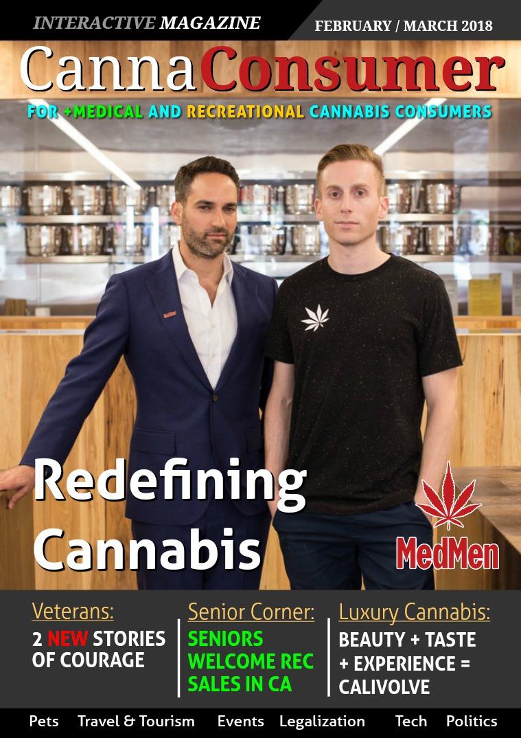 CANNAConsumer Magazine FEBRUARY / MARCH 2018