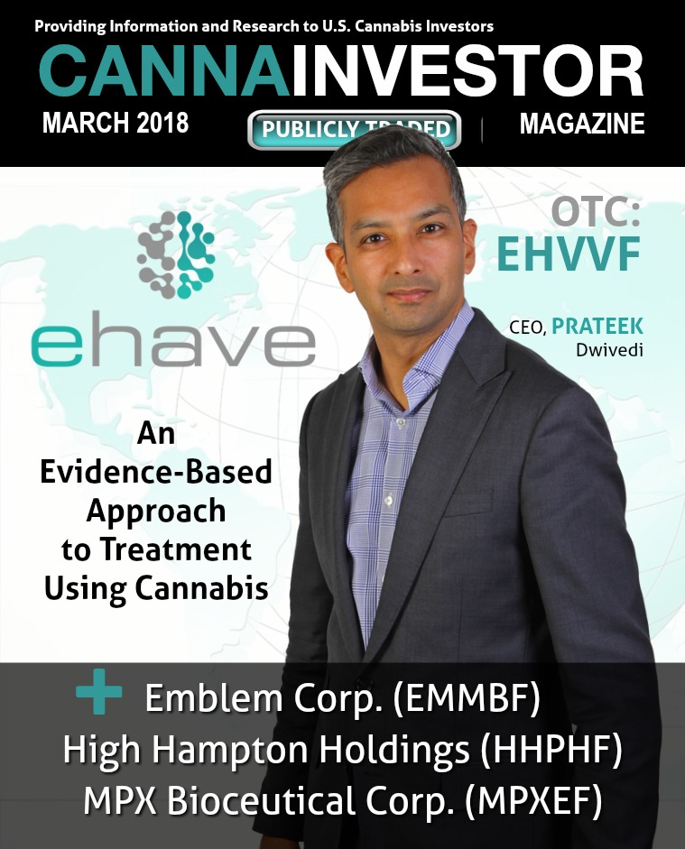 CANNAINVESTOR Magazine U.S. Publicly Traded March 2018