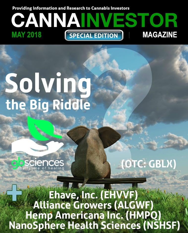 CANNAINVESTOR Magazine Special Edition May 2018