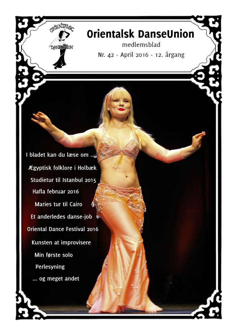 Orientalsk DanseUnion Nr. 42 April 2016