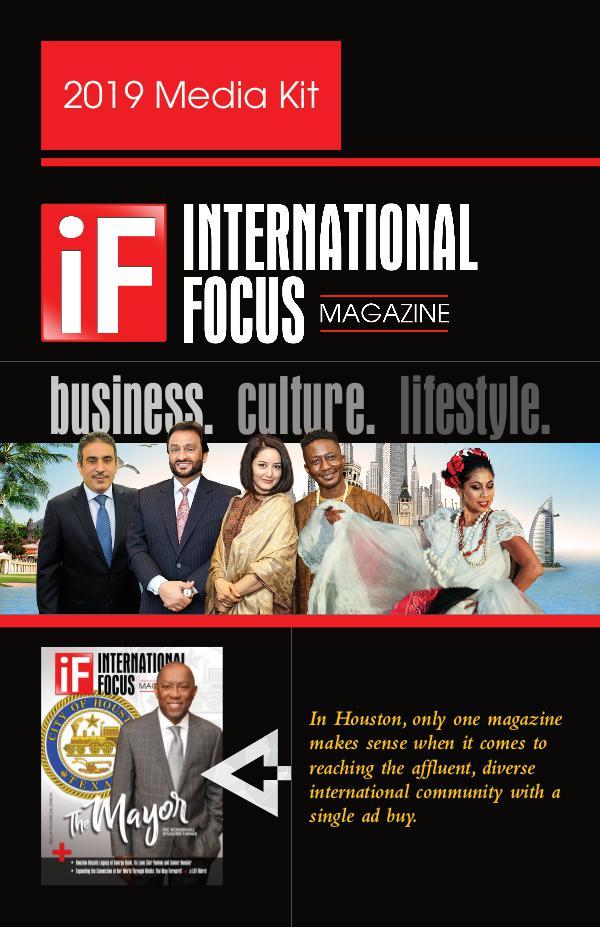 International Focus Magazine's 2016 Media Kit 2019 iF Media Kit DIGITAL